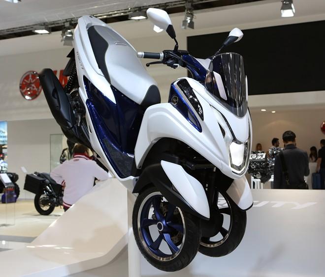 """""""Thưởng thức"""" loạt xe Yamaha tại triển lãm EICMA 2013"""