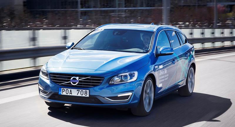 Volvo tung 100 xe không cần người lái ra đường phố
