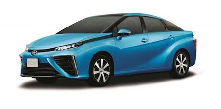 Thiết kế chính thức chiếc xe chạy bằng hydro của Toyota
