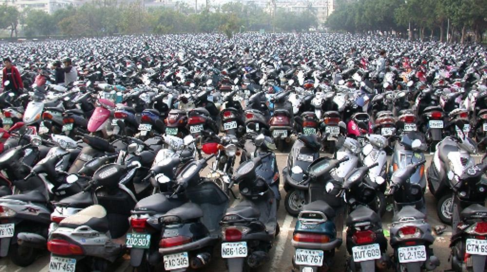 Người dân nước nào sở hữu nhiều xe máy nhất?