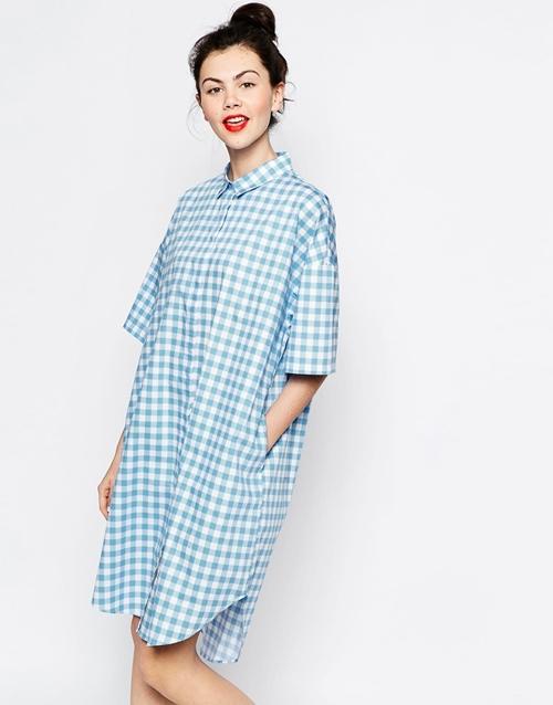 Những mẫu váy sơ mi tuyệt đẹp với giá bình dân