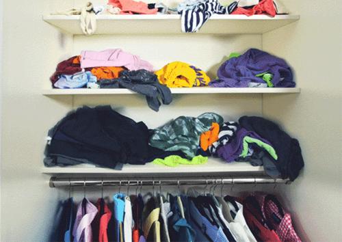 Hướng dẫn gập đồ thông minh giúp tủ quần áo ngăn nắp