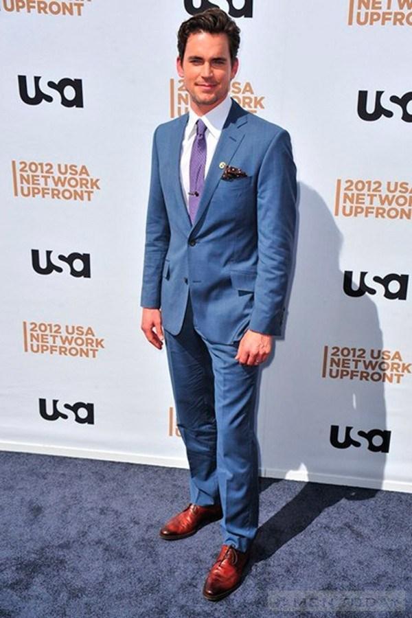 Bí kíp chọn suit xanh tỏa sáng cùng sao nam trên thảm đỏ