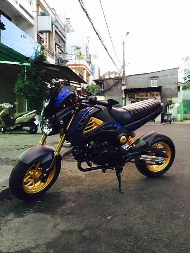 Honda MSX 125 con xe nake bike mini nhỏ gọn độc đáo