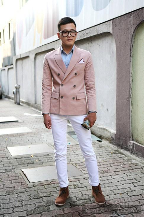 Chàng có chiều cao khiêm tốn nên mặc đồ như thế nào ?