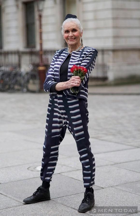 'Street style' chất lừ của các cụ ông, cụ bà