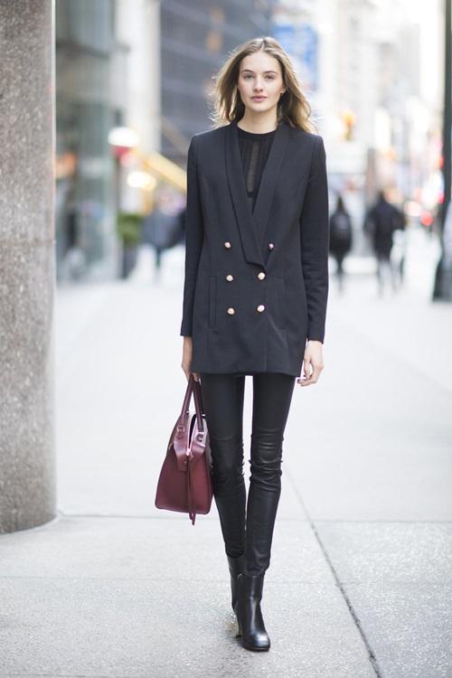 20 mẹo nhỏ diện legging đẹp từ dạo phố đến công sở