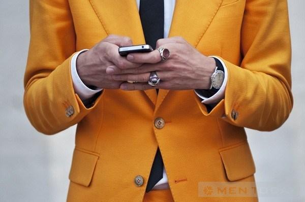 Bí quyết phối phụ kiện trang phục tinh tế cho các chàng