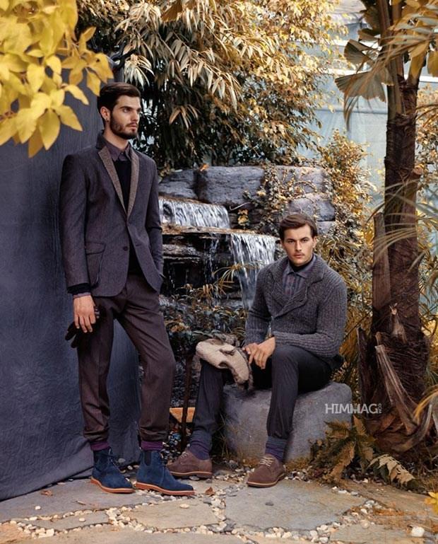 Kiểu áo khoác nam cực đẹp cho mùa Đông năm 2017