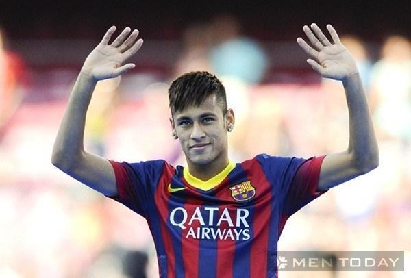 Phong cách tóc sành điệu của Neymar cực đẹp