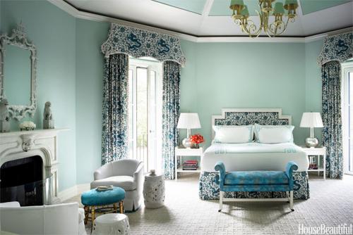 Tâm lý và chuyện chăn gối của bạn bị chi phối bởi màu phòng ngủ