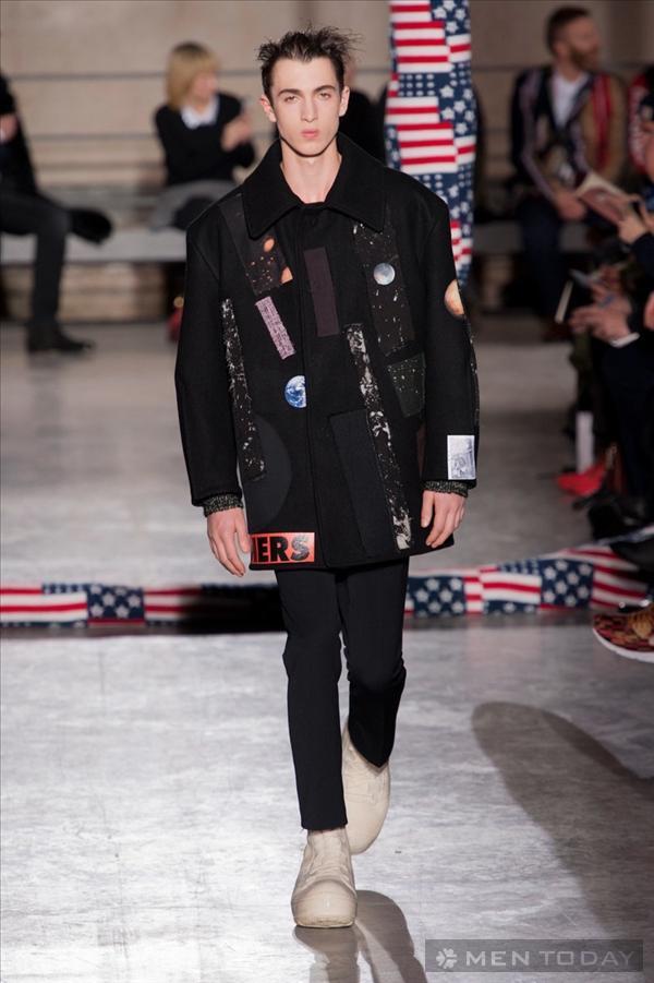 Xem lại BST thời trang nam thu đông 2014 của Raf Simons | PFW