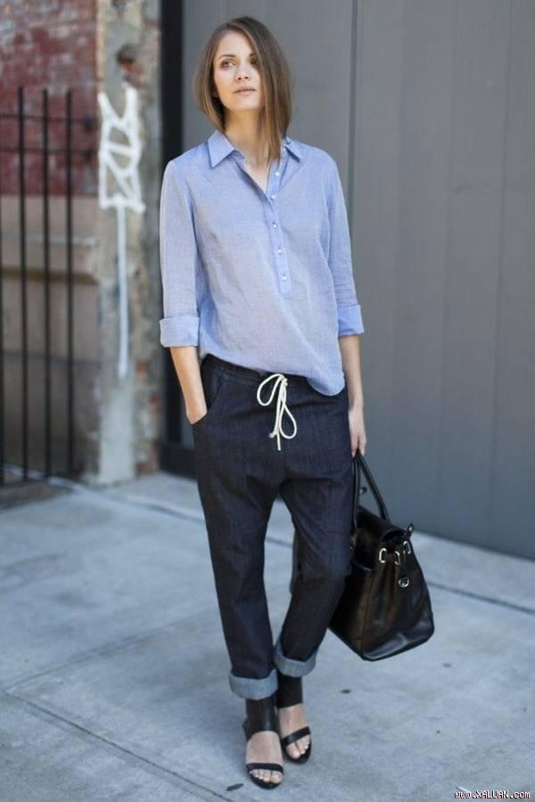 5 kiểu áo nữ phong cách trẻ trung mát dịu hè thu 2017