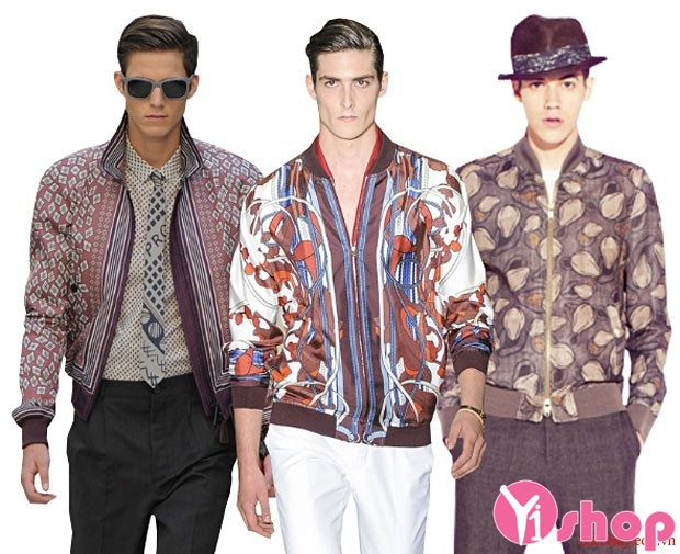 Áo khoác nam đẹp cho chàng tự tin dạo phố màu thu đông 2017