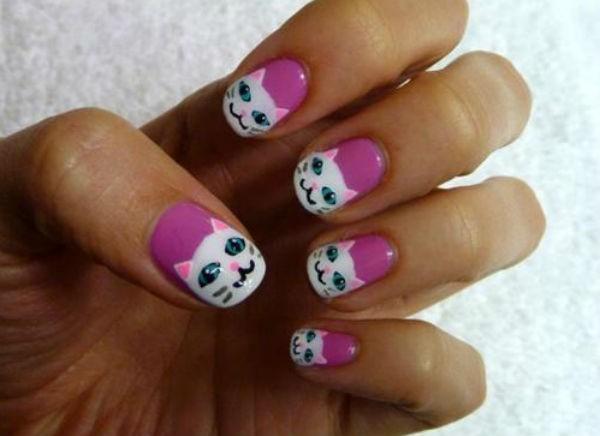 Bí quyết vẻ móng tay đẹp hình con vật đáng yêu cho cô nàng tuổi teen