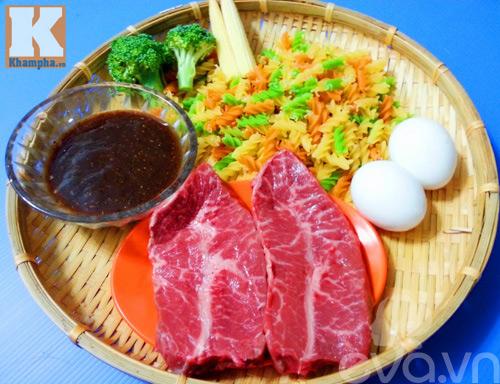 Bò bít tết kiểu Đài Loan thơm nức mũi