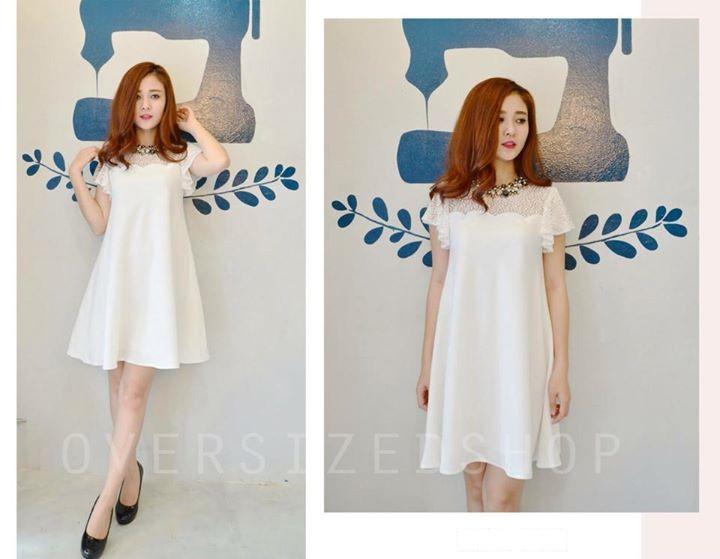 BST váy đầm suông đẹp xuân hè Hàn Quốc cho cô nàng điệu đà