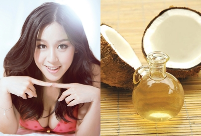 Chăm sóc tóc nhuộm giữ màu lâu bằng dầu dừa đúng cách