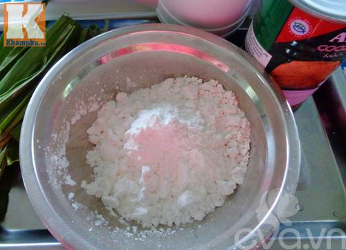 Chè bánh lọt nước cốt dừa thơm ngon cho gia đình