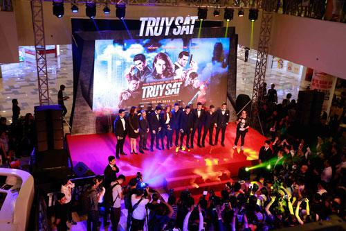 Dàn sao nữ Việt đọ sắc tại buổi ra mắt phim Truy sát