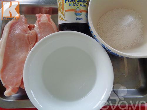 Món thịt heo tẩm nước mắm chiên giòn siêu ngon cho gia đình