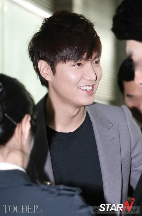 Nam thần Lee Min Ho trẻ trung với tóc tỉa layer ngắn