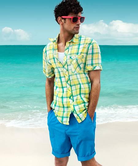 Năng động cá tinh với áo sơ mi nam color block