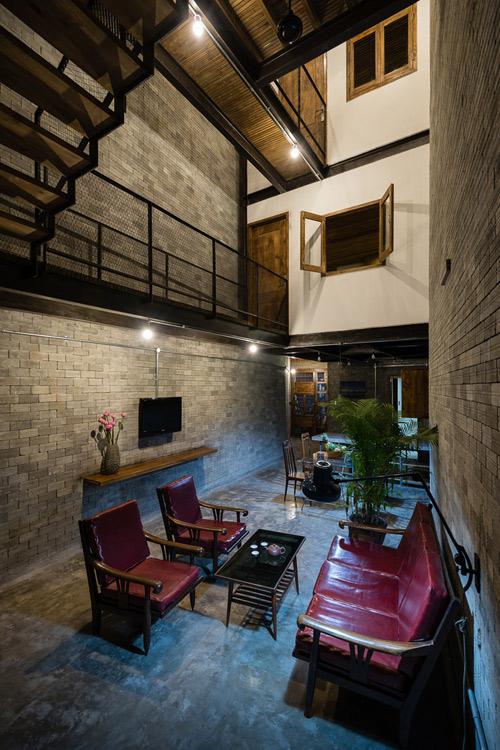 """Ngôi nhà phong cách thiền giữa lòng Sài Gòn """"Zen House"""""""