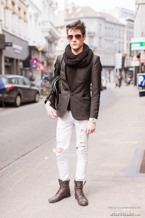 Những bí quyết phối quần trouser và blazer