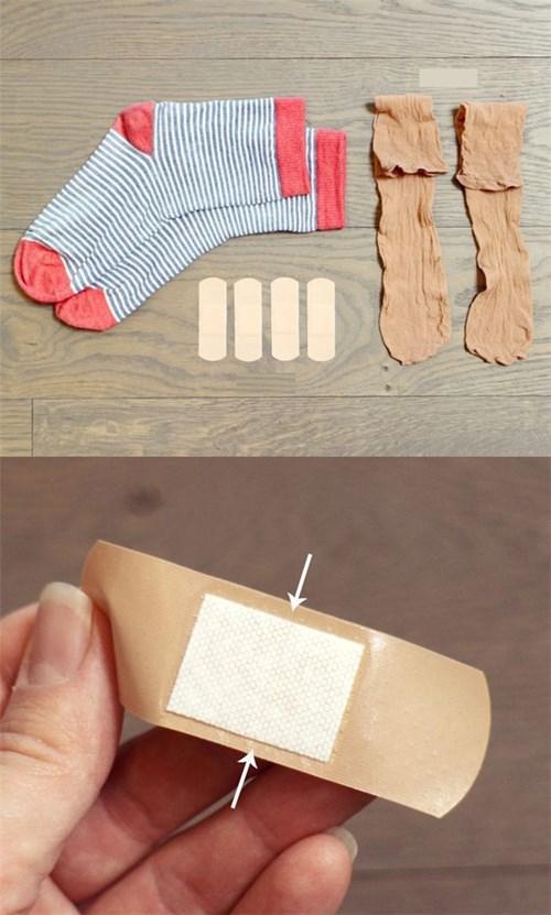 Những cách đơn giản để chân không bị phồng rộp