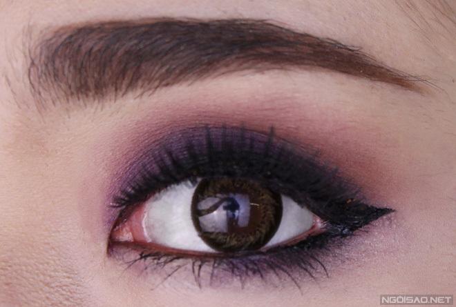 Những cách trang điểm mắt đẹp cá tính cho bạn gái cuốn hút