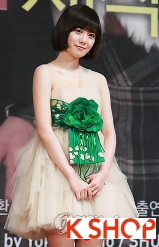 Những kiểu tóc dễ thương của sao Hàn Quốc 2016
