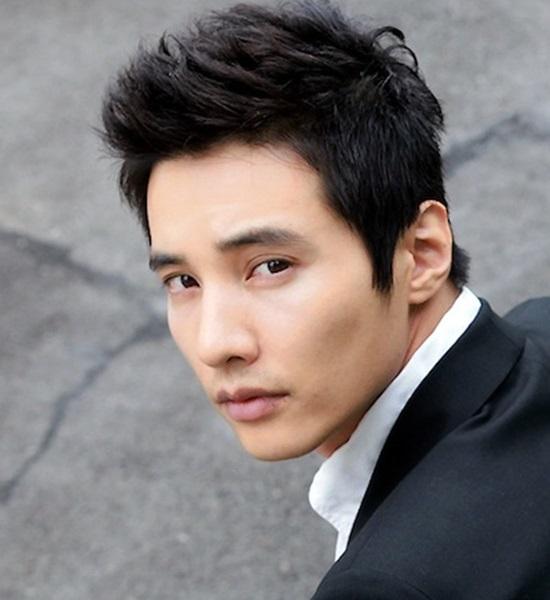 Những mẫu tóc nam phong cách Hàn Quốc lãng tử