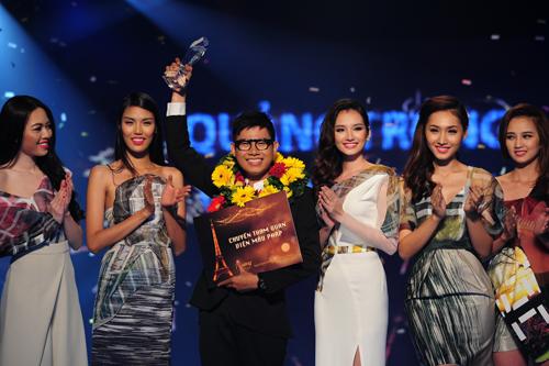 NTK Quang Nhật tại Tuần thời trang quốc tế