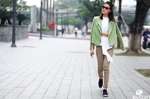 Phái đẹp Hà Nội trong trang phục thật dịu dàng vừa thật cá tính