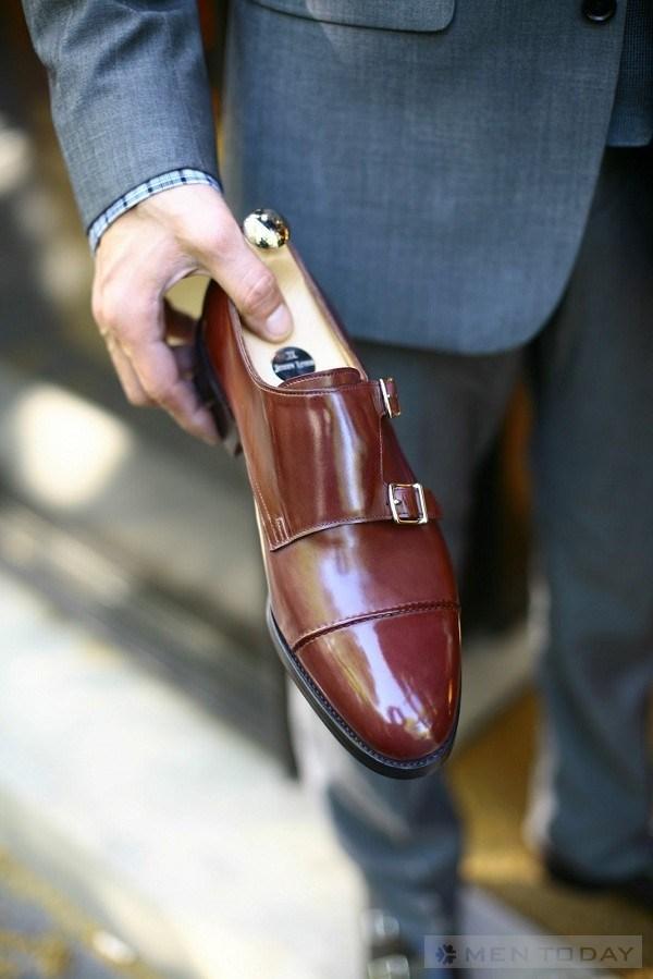 Sắm monkstrap cho tủ giày của các Men