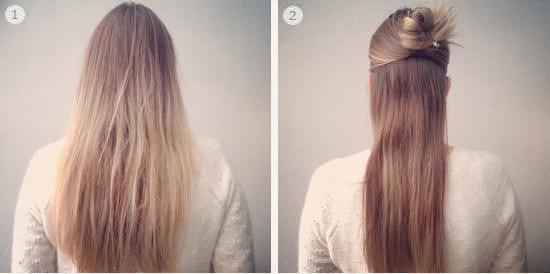 Tết tóc hình hoa mai sáng tạo cho bạn gái thêm xinh
