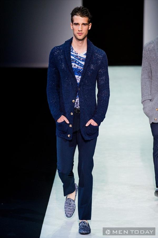 Thời trang nam xuân hè nam tính từ Giorgio Armani