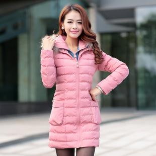 Vẻ đẹp duyên dáng của áo khoác phao dài Hàn Quốc