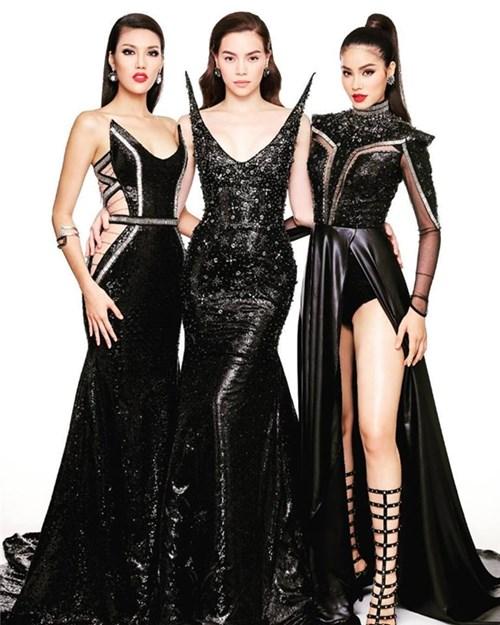 """""""Cuộc chiến"""" váy áo được đoán trước của bộ ba Hà, Hương, Khuê"""