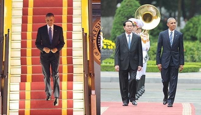 Gu thời trang thanh lịch của Tổng thống Obama