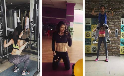Gym để có vóc dáng chuẩn của cô nàng 'thất tình'