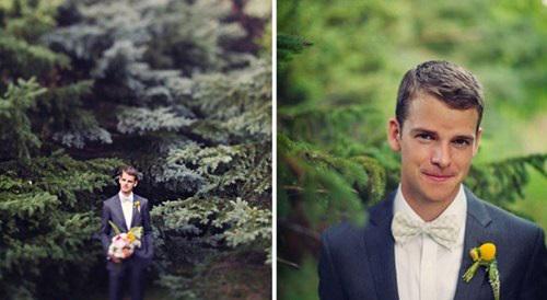 Kiểu tóc lịch lãm, nam tính cho chú rể ngày cưới