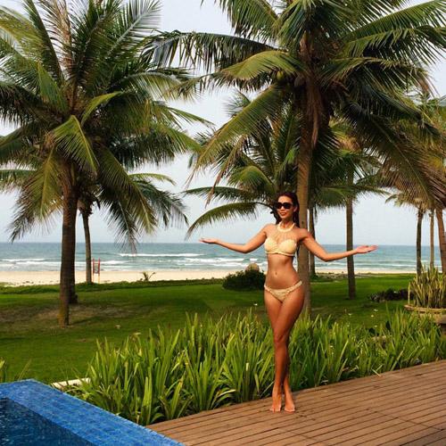 Ngắm vẻ đẹp sexy khó cưỡng của sao Việt khi diện bikini