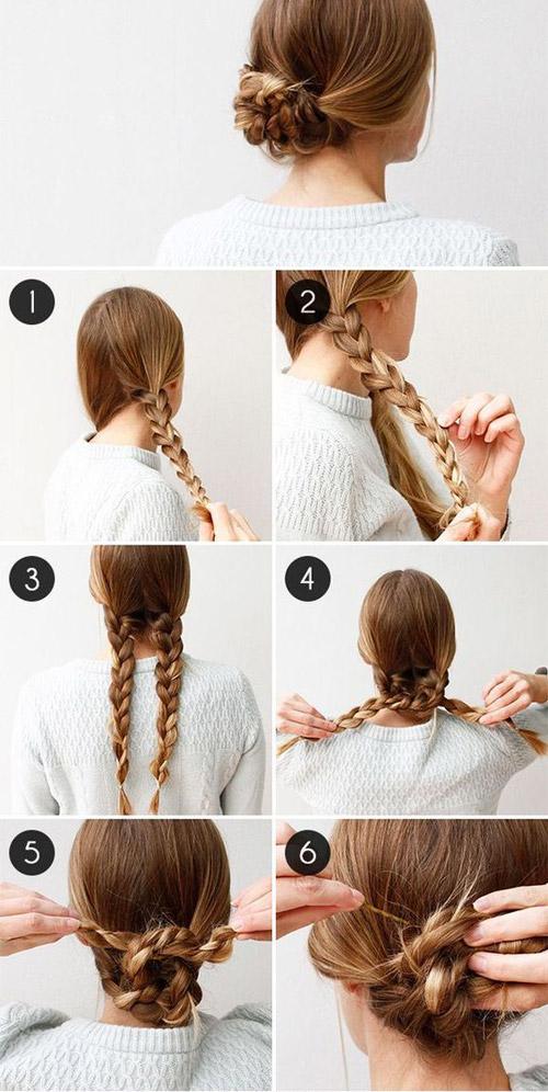 Những kiểu tóc búi mùa hè cho chị em U30 ăn gian tuổi