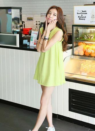 Trẻ trung xinh xắn với váy đầm babydoll dáng xòe