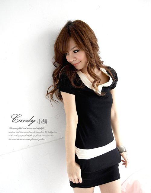 Tươi xinh xuống phố với váy đầm liền thân Hàn Quốc