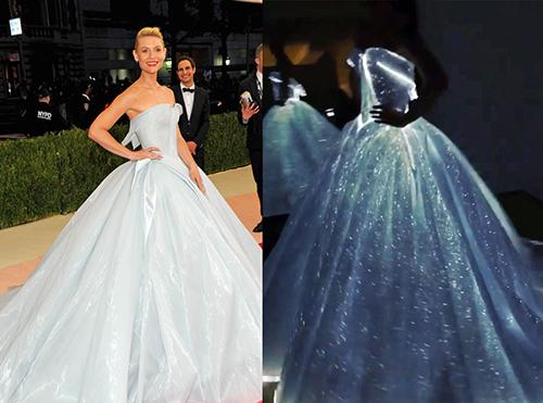 """Xuất hiện nàng """"Lọ Lem"""" mặc váy phát sáng"""