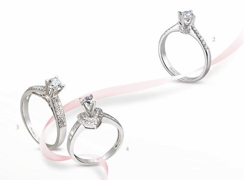 Lãng mạn với thiết kế nhẫn cầu hôn PNJ