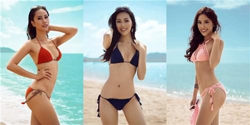 """Ngất ngây những bộ ảnh nội y """"khó cưỡng"""" của mỹ nhân Việt"""